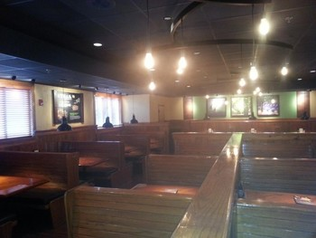 Above: Electrial Lighting at Outback Steakhouse in Lenexa, KS