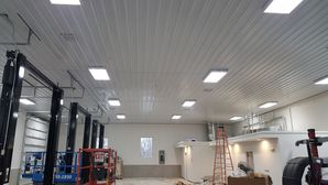 Commercial Electric for independence, MO Automotive Warehouse Construction (2)