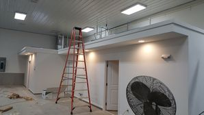 Commercial Electric for independence, MO Automotive Warehouse Construction (3)